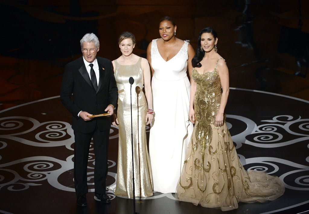 The cast of Chicago presented two awards.