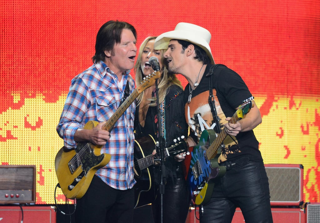 Sheryl Crow performed with John Fogerty and Brad Paisley.