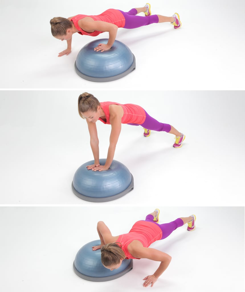 How To Work a BOSU Ball From Top To Toe