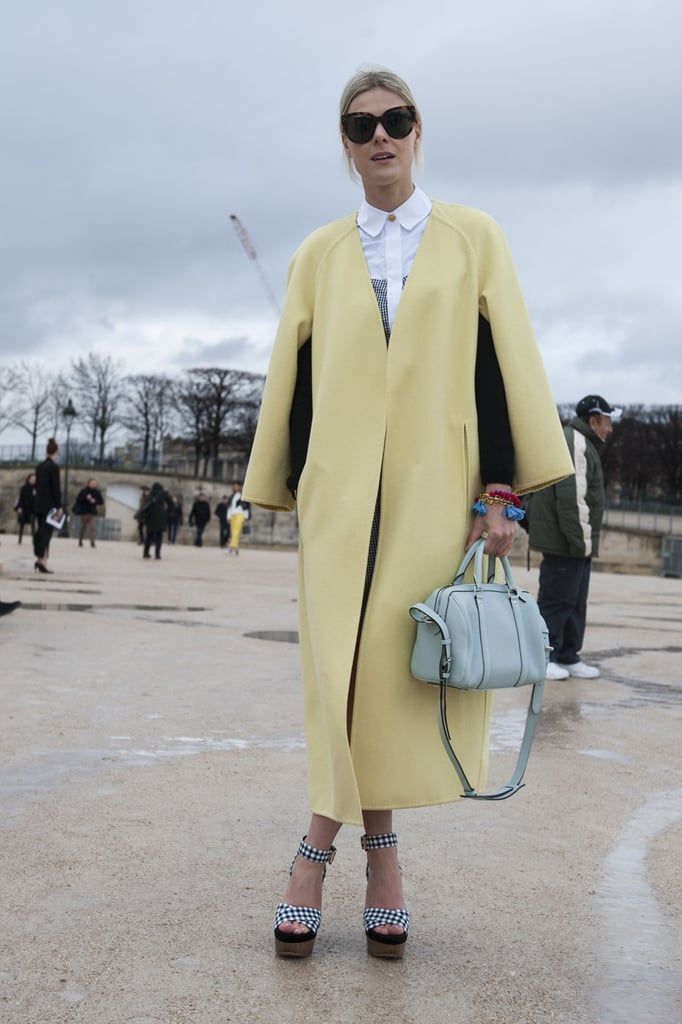 An easy ticket into the trend is to pull on a sugary coat.