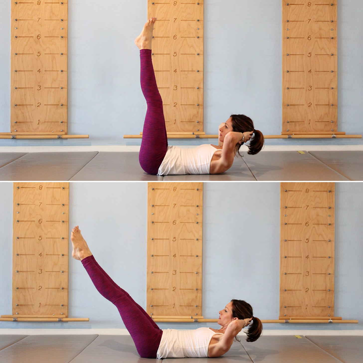 Double Straight-Leg Stretch
