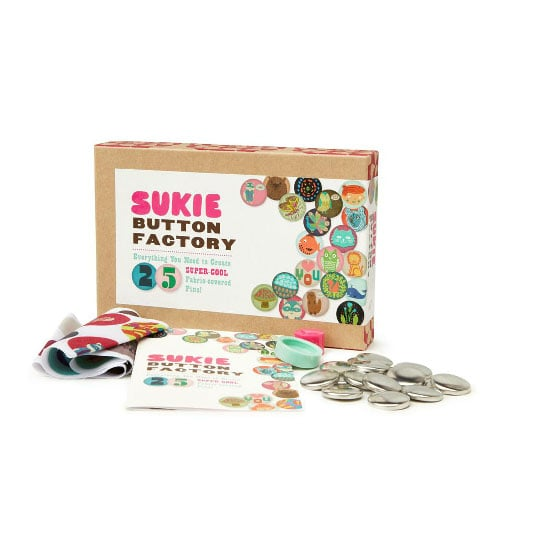 DIY Button-Making Kit, $39.95, Sportsgirl
