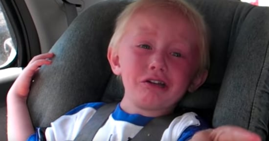 Little Boy Freaks Out After Hearing GPS Say 'Bear Right'