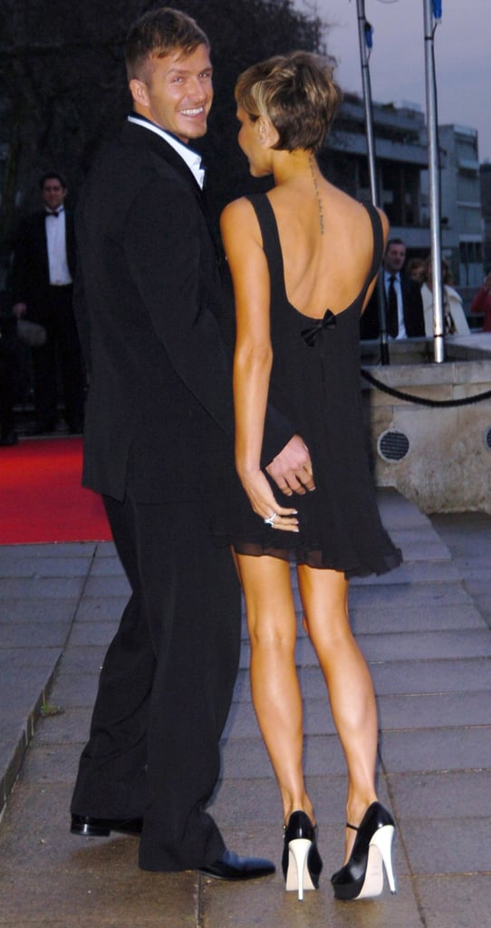 Victoria came out to support David at the March 2007 Sport Industry Awards in London, where he received an award for outstanding contribution to British sport.