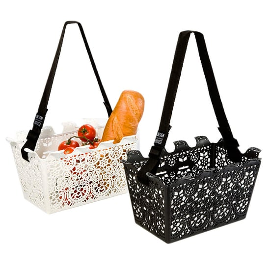 Nice and New: Lace Shopping Basket at the Container Store