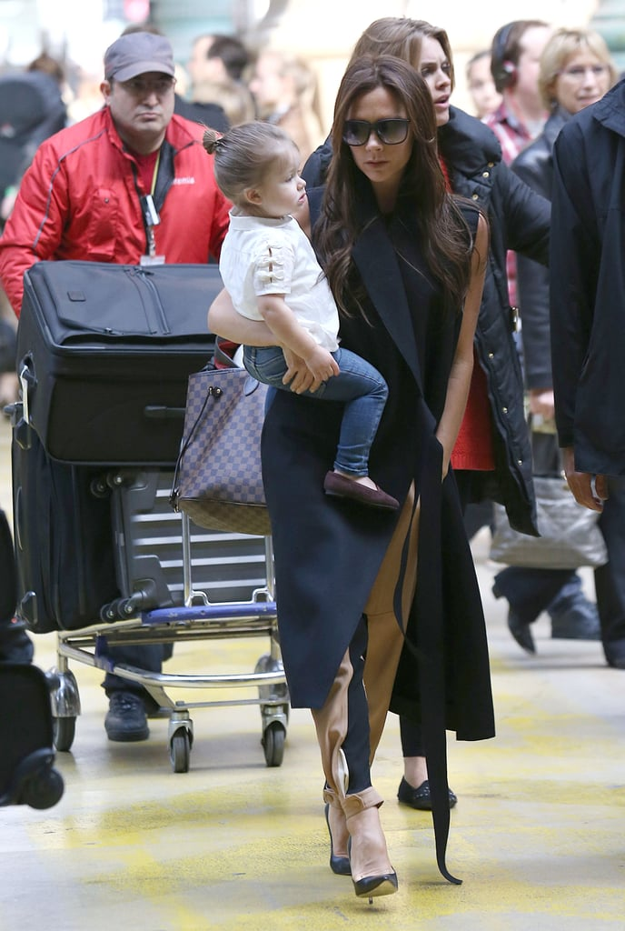 What Haircut? Victoria Takes Harper to Paris With a Surprising 'Do