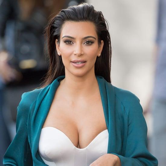 Kim Kardashian's Passport Photo