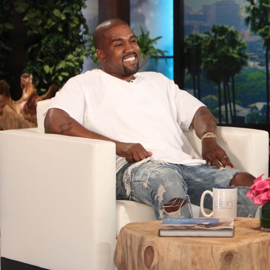 Kanye West on The Ellen DeGeneres Show May 2016