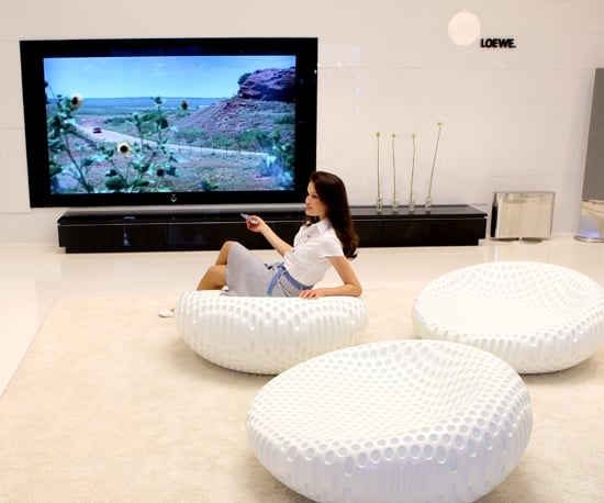 Flat Screen Tvs Increasingly Mounted In Odd Rooms And