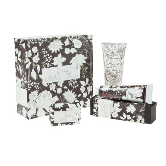 If you can convince your mother to take Lollia's In Love Bath Collection ($29) out of its adorable packaging, then she'll be treated to some serious botanical bliss.