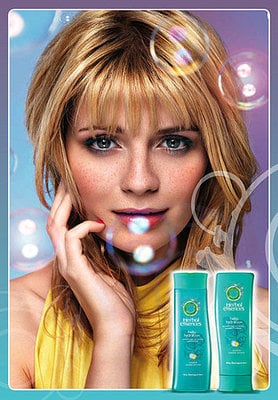 Mischa Barton for Herbal Essences