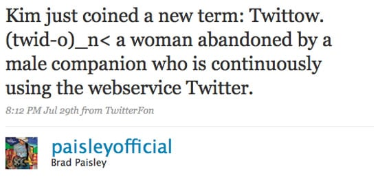 """Kimberly Williams-Paisley Coins a New Word, """"Twittow,"""" For Women Whose Husbands Twitter Too Much"""