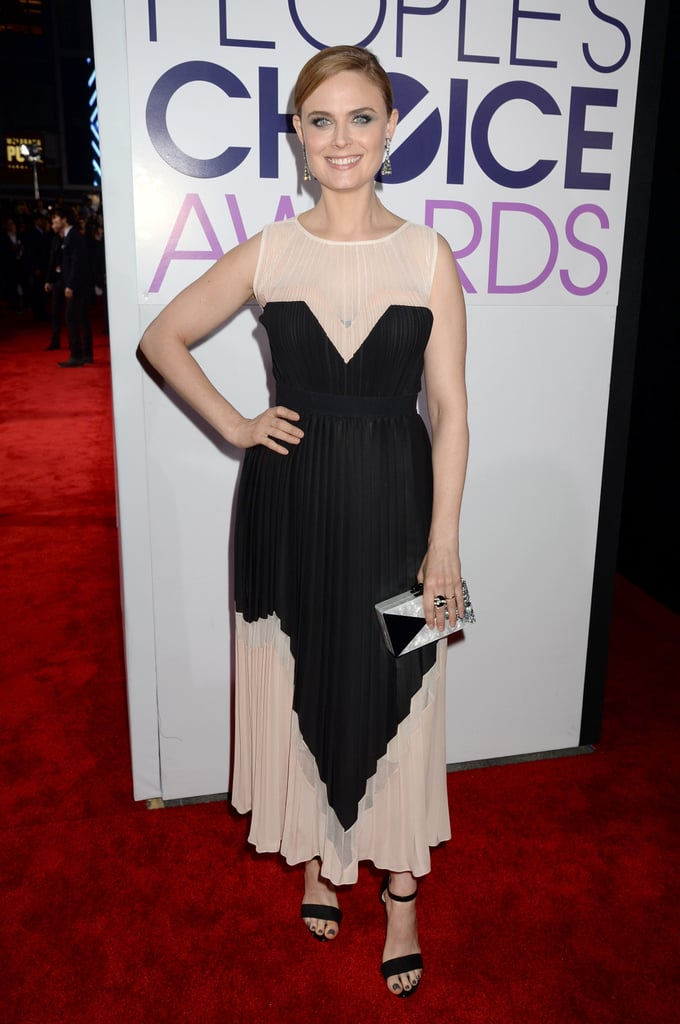Emily Deschanel at the People's Choice Awards 2014