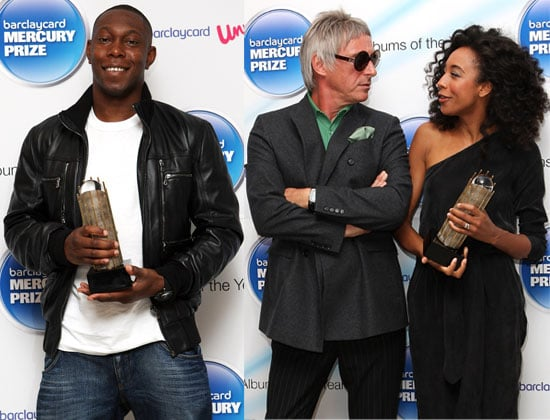 Pictures of Mercury Music Prize 2010 Nominees Including Corinne Bailey Rae, Paul Weller, Dizzee Rascal