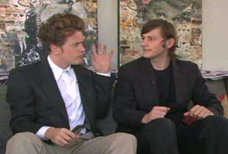 David Lynch and Crispin Glover = BFFs
