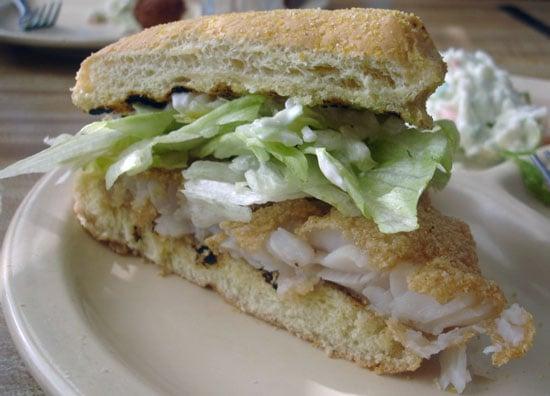 'Wich of the Week: Fried Grouper Sandwich
