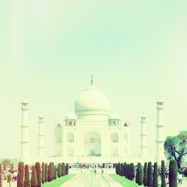 Lauren Conrad shared a snap of the Taj Majal.  Source: Instagram user laurenconrad