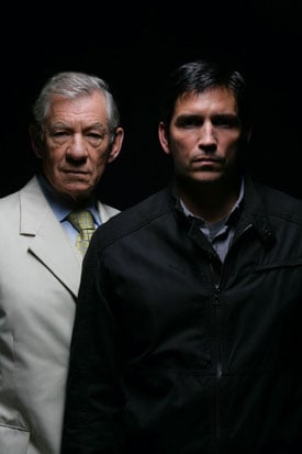 Nine-Minute Preview Video Clip of AMC's The Prisoner Miniseries Starring Ian McKellen and Jim Caviezel