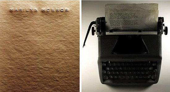 Marilyn Monroe's Typewriter