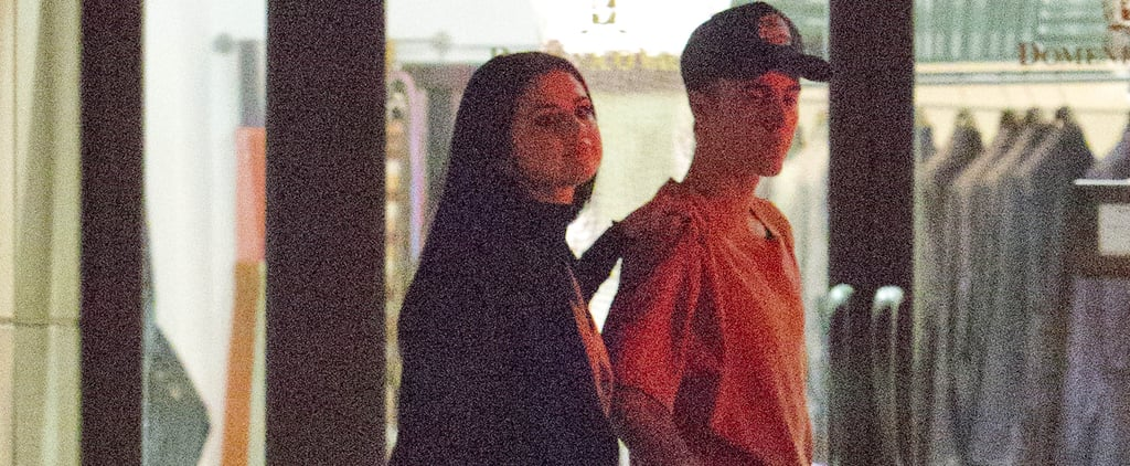 Selena Gomez and Justin Bieber Keep Close During a Late Night Stroll