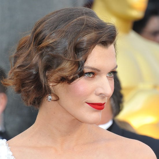 Milla Jovovich From the Side
