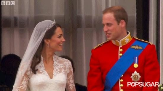You stayed up all night to watch the royal wedding live.