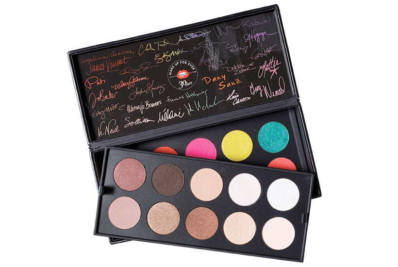 Make Up For Ever 30 Years 30 Colors 30 Artists Shadow Palette