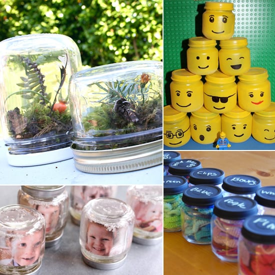 How to reuse baby food jars popsugar moms for Things to make out of glass