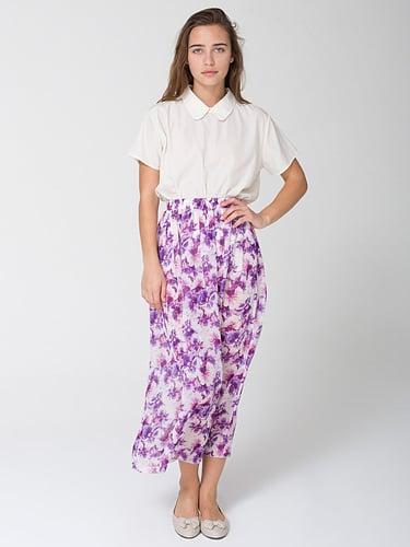 Floral Full Length Skirt
