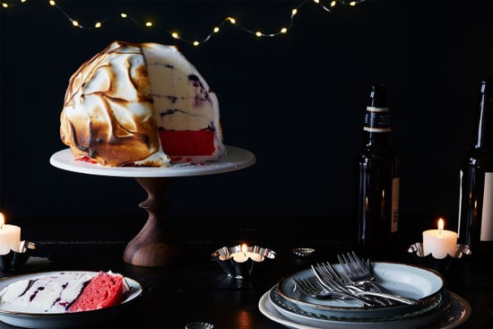 Flag Cake Meets Baked Alaska (Can Be Made in Flip Flops)