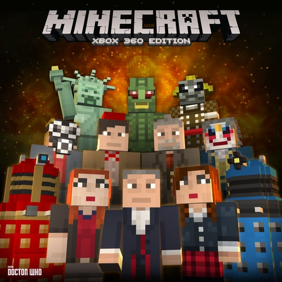 Minecraft Doctor Who Skins Volume One