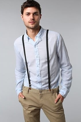 The Suspender Factory of San Francisco Solid Skinny Suspender ($18)