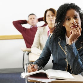 Laid-Off Employees Using Continuing Education to Remain Competitive