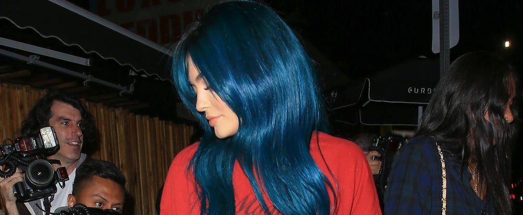 Kylie Jenner Proves Lampshading Is the Style Move to Make at the Club