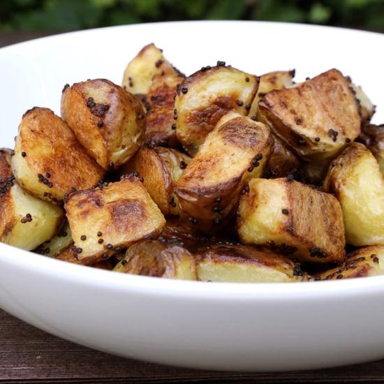 Mustard Roasted Potatoes Recipe
