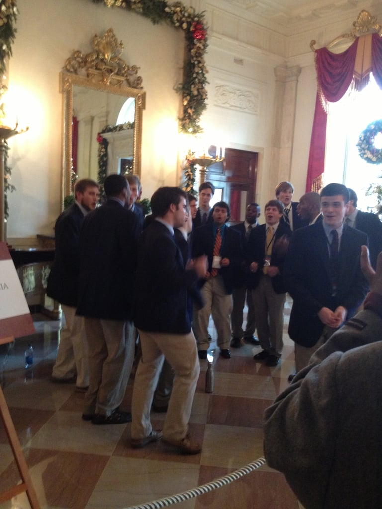 Wrapping things up on a high note, we were treated to an a capella performance from the University of Virginia's Hullabahoos.