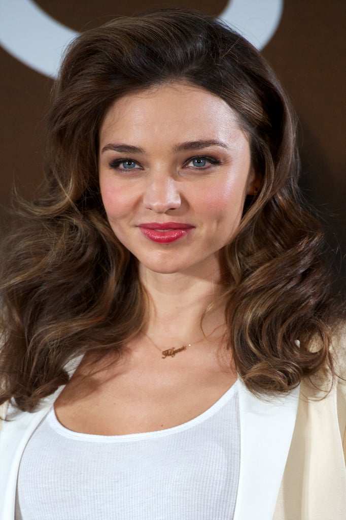Miranda Kerr Celebrates Her New Deal With Mango in Madrid