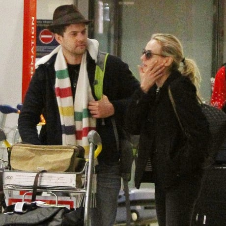 Diane Kruger and Joshua Jackson in Paris For Christmas Pics