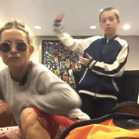 Kate Hudson and Son Ryder's Dance and Rap Video on Instagram