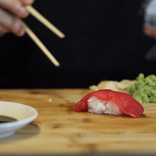 How to Eat Sushi the Right Way