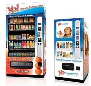 Healthy Food From a Vending Machine?