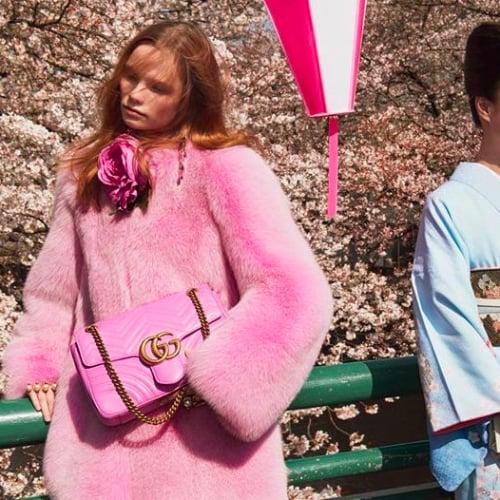 It Girl Style | Fall Gucci GG Marmont Handbag