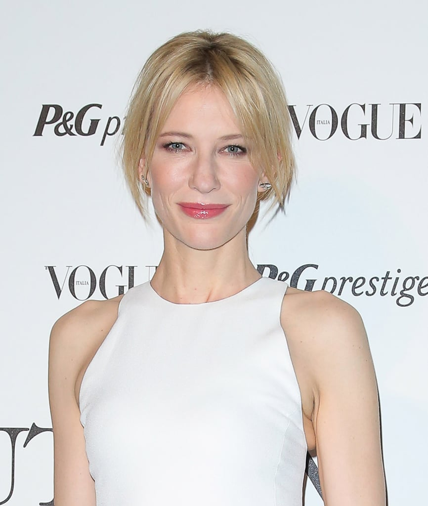 Cate Blanchett at P&G's Beauty in Wonderland event.