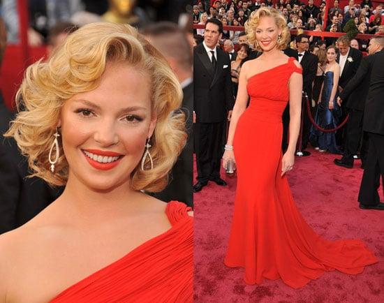 Oscars Red Carpet: Katherine Heigl