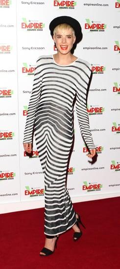 Agyness Deyn at the Empire Film Awards