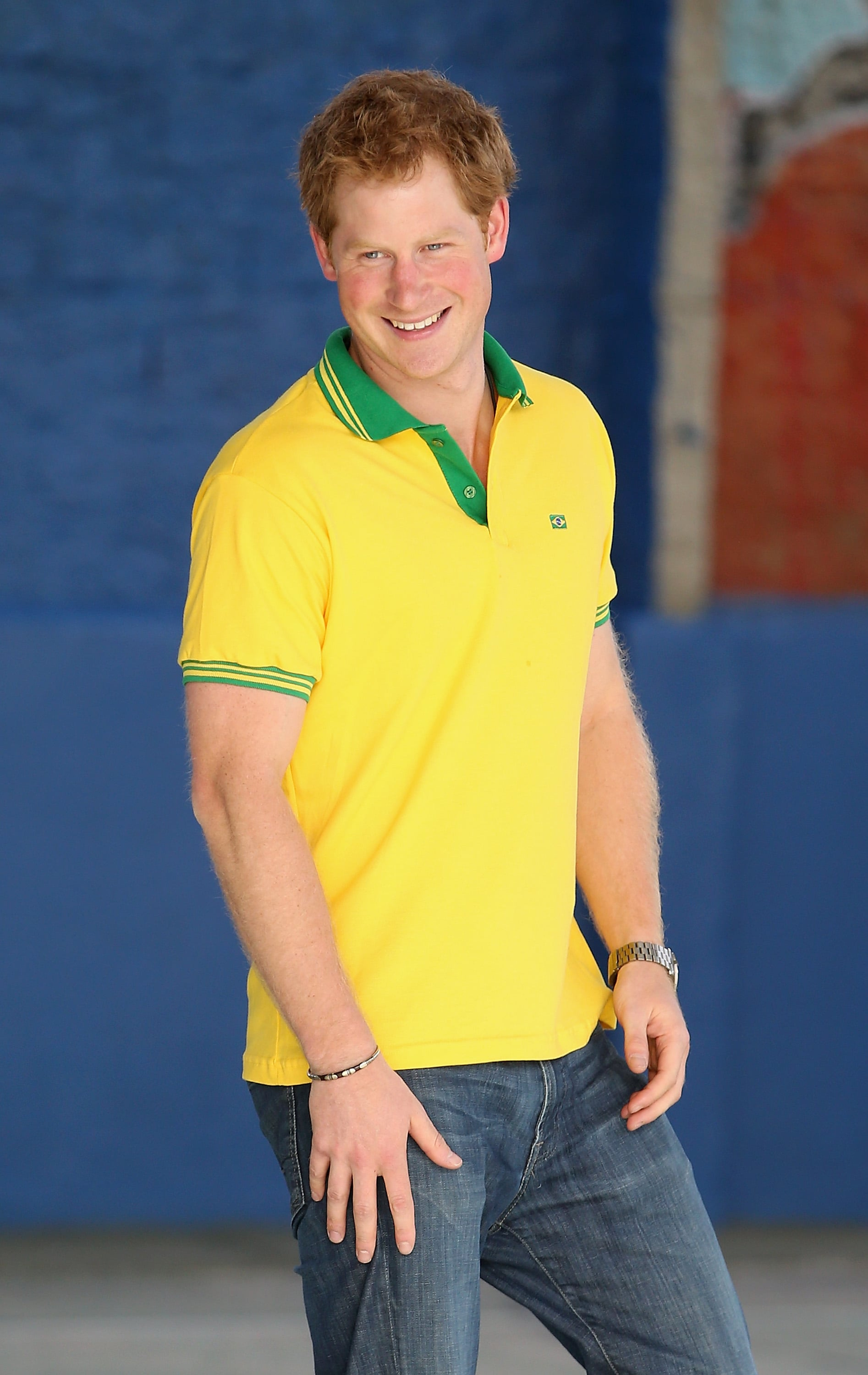 Is It Just Us or Is Prince Harry Getting Hotter?