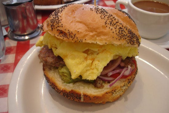 'Wich of the Week: Kaiser Egg and Sausage Sandwich