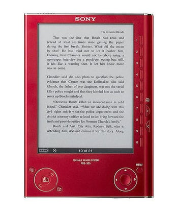 Sony's Red eReader