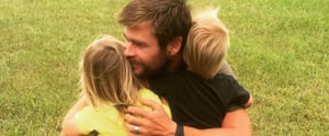 13 Pictures of Chris Hemsworth and His Kids That Might Make Your Heart Explode