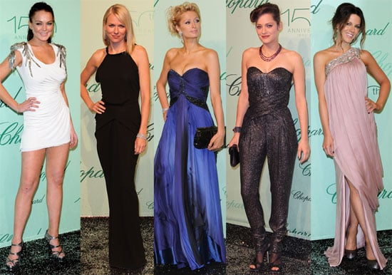 Pictures of Lindsay Lohan, Naomi Watts, Paris Hilton, Kate Beckinsale and Others at Cannes Chopard Party 2010-05-18 15:30:58